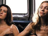 Anne Dudek and Melanie Lynskey Nude in Park (2006)